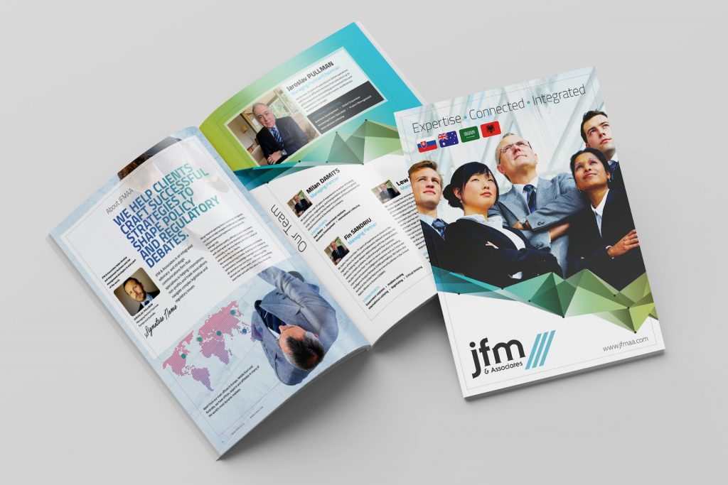 JFMAA Brochure Design - JFM & Associates - Draft